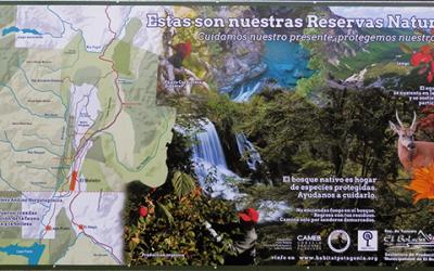 Inaguracion del cartel 'Estas Son Nuestras Reservas'